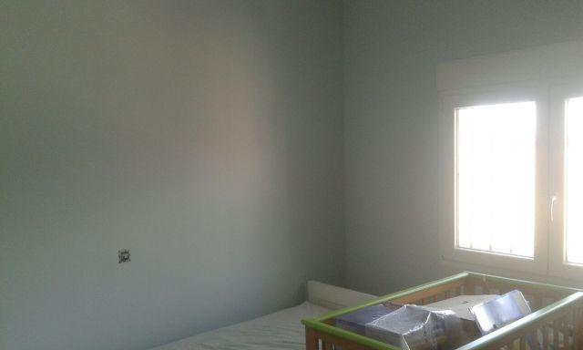 Plastico Sideral S-500 Color Azul Grisacio en Habitacion (8)
