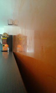 Estuco Veneciano Veteado Color Naranja (4)