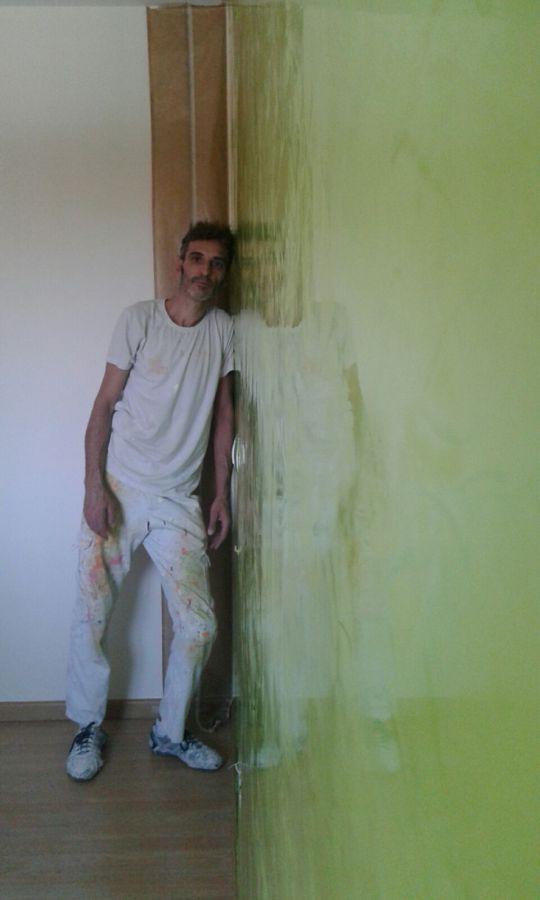 Estuco Veneciano Veteado color verde (5)