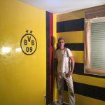 Estuco Veneciano Original a rayas amarillas y negras Borussia Dortmund (13)