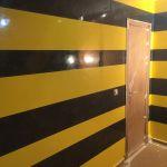 Estuco Veneciano Original a rayas amarillas y negras Borussia Dortmund (40)