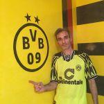 Estuco Veneciano Original a rayas amarillas y negras Borussia Dortmund (46)