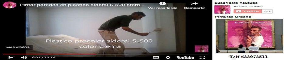 Banner Como pintar paredes con pintura plastica Sideral S-500 Crema a Rodillo