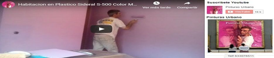 Banner Como pintar paredes con pintura plastica Sideral S-500 Malva a rodillo