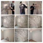 Estuco Marmol gris a 3 colores Usera -COLLAGE