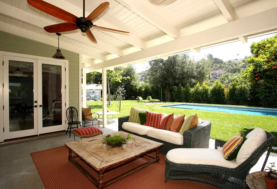 15 Best Patio Ceiling Ideas - Covered Outdoor Designs ...