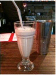 Hazelnut & Vanilla Milkshake from The Diner