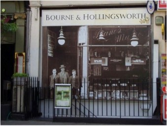 Bourne and Hollingsworth Exterior