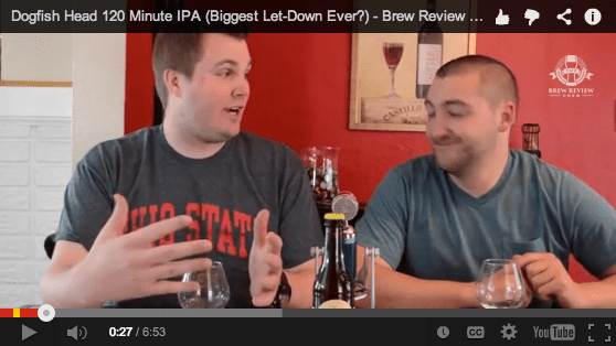 DogFish Head 120 Minute IPA Review