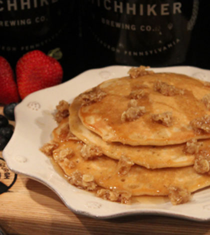 Oatmeal Brown Beercakes – Beer Me for Breakfast