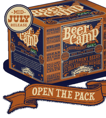Review of Sierra Nevada's Beer Camp Across America Variety Pack Part I