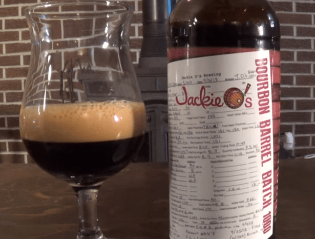 Jackie O's Bourbon Barrel Batch 1000 – Erie Better Beer Review