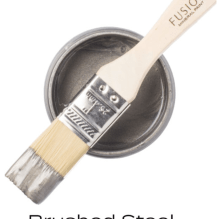 Fusion™ Mineral Paint Metallic Brushed Steel