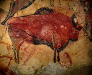 It's a shame the paleolithic artist of this buffalo didn't think to paint friends and family.