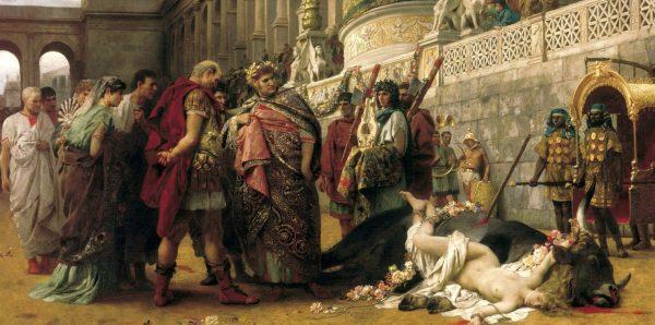 Nero entertains the crowds