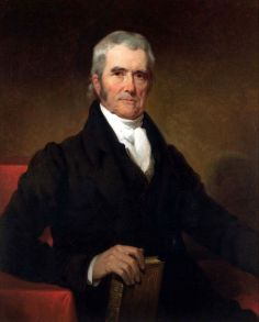 Marshall would never stand for impeachment without witnesses