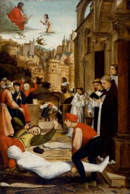 St. Sebastian's prayers were no match against the pandemic.