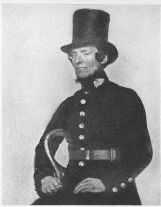 police history: an early peeler/bobby