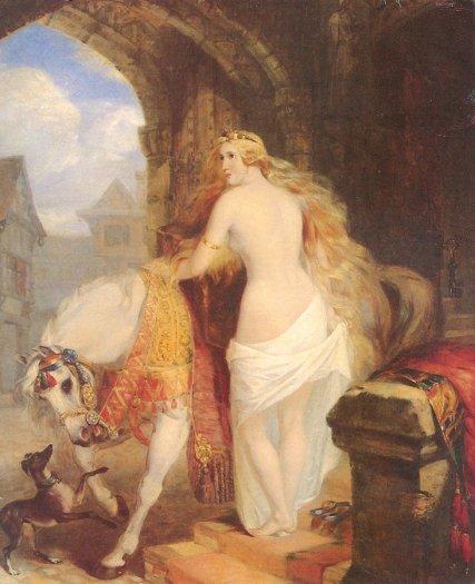 Lady Godiva, Claxton painting