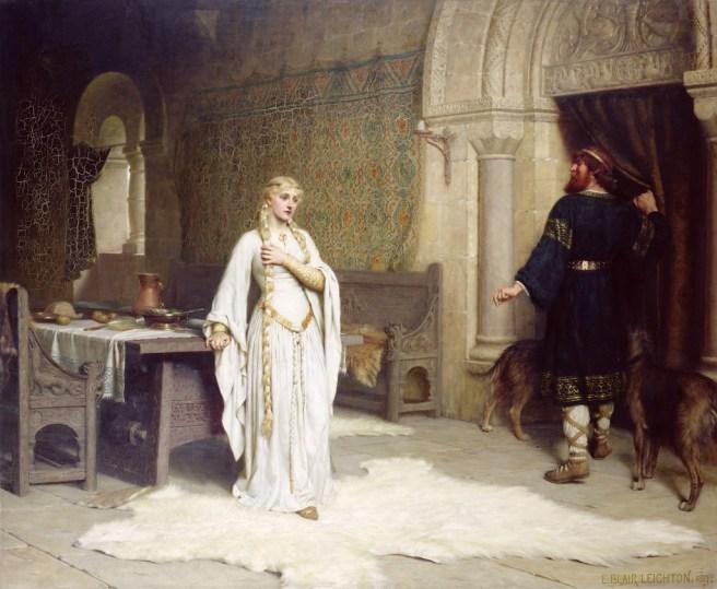 Lady Godiva, Leighton painting