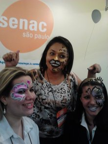 Pintura Facial Infantil by Gladis _ expo parques festas 2012 _ SENAC (10)