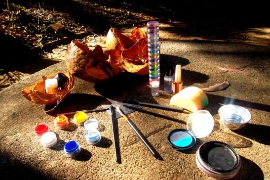 Maquiagem Artística Infantil - criancas- dino - peixe - mascara (2)