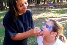 Maquiagem Artística Infantil - criancas- dino - peixe - mascara (3)
