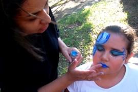 Maquiagem Artística Infantil - criancas- dino - peixe - mascara (4)