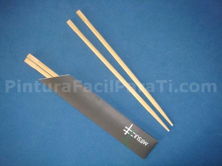 Palillos para el pelo parte 1 pintura facil for Manualidades con palillos de dientes