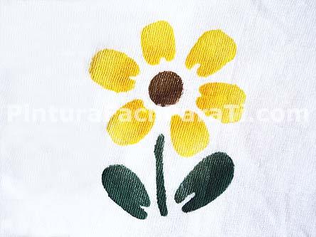 Pintura De Flores Girasol Pintura Facil