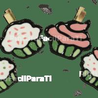 Deco Scrapbook Cupcakes