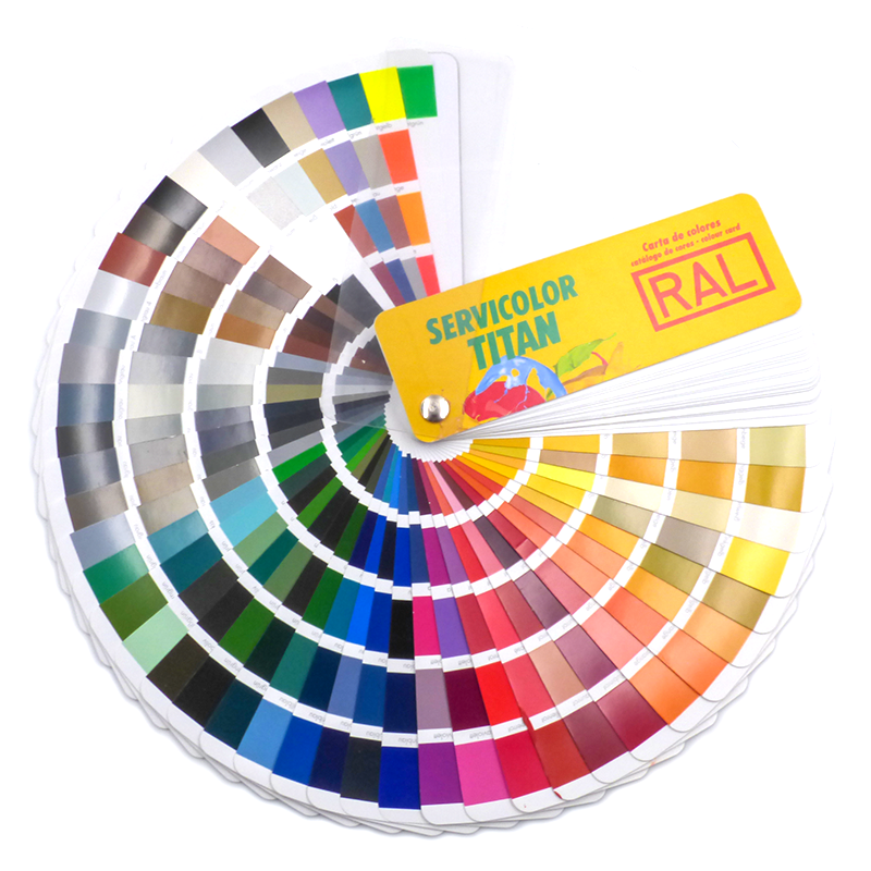Disponibile in oltre 3000 colori e 3 varianti gloss: Cartella Colori Ral K7 Classic 213 Colori