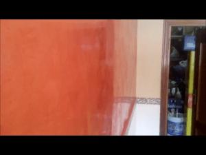 Estuco Color Naranja
