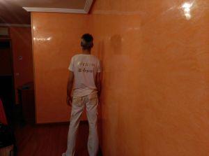 Estuco Mitiko Naranja con Cera Gel