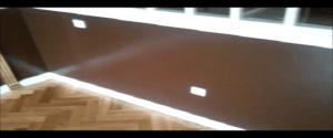 Lacado de Paredes en Color Wengue