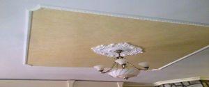 Estuco Veneciano Color Amarillo con fondo blanco
