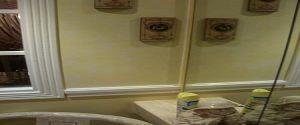Estuco Veneciano Rialto Color Amarillo con fondo blanco