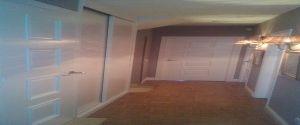 Lacado de armario y puerta en blanco