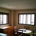 Esmalte color marron grisacio en salon de Vicalvaro 16