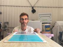 Muestra Estuco Mitiko Color Gris y Turquesa (4)
