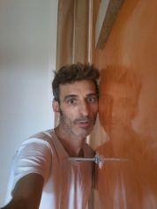Estuco Veneciano Veteado Color Naranja (16)