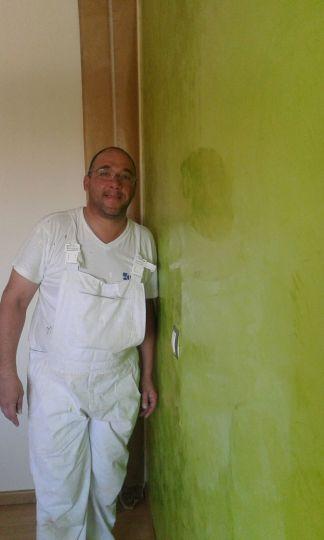 Estuco Veneciano Veteado color verde (17)