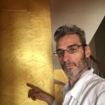Cera Metal Oro Sobre Efecto Rustico Brisa - Mañana (31)