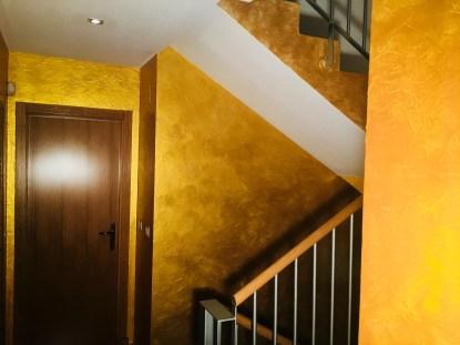 Cera Metal Oro Sobre Efecto Rustico Brisa - Mañana (69)