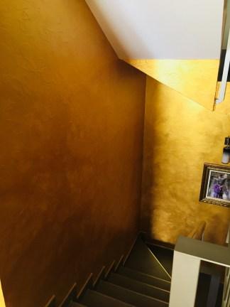 Cera Metal Oro Sobre Efecto Rustico Brisa - Mañana (82)