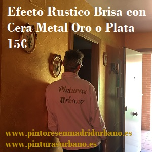 Oferta Brisa Rustica con Cera Oro Metalizada