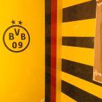 Estuco Veneciano Original a rayas amarillas y negras Borussia Dortmund (100)