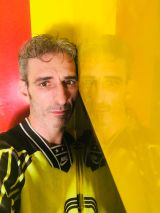 Estuco Veneciano Original a rayas amarillas y negras Borussia Dortmund (109)