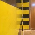 Estuco Veneciano Original a rayas amarillas y negras Borussia Dortmund (15)
