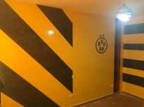 Estuco Veneciano Original a rayas amarillas y negras Borussia Dortmund (28)